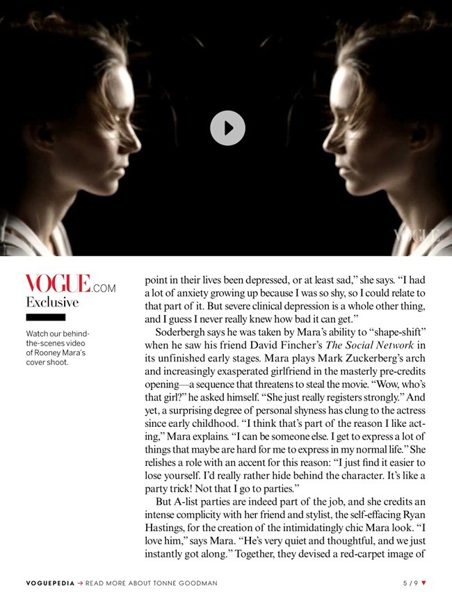 VOGUE MAGAZINE- Rooney Mara in The Changeling by David Sims. Tonne Goodman, February 2013, www.imageamplified.com, Image Amplified (4)