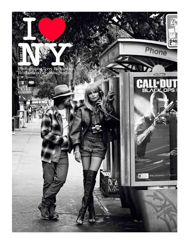 VOGUE PARIS- Natasha Poly in I Love NY by Terry Richardson. Geraldine Saglio, February 2013, www.imageamplified.com, Image Amplified (1)