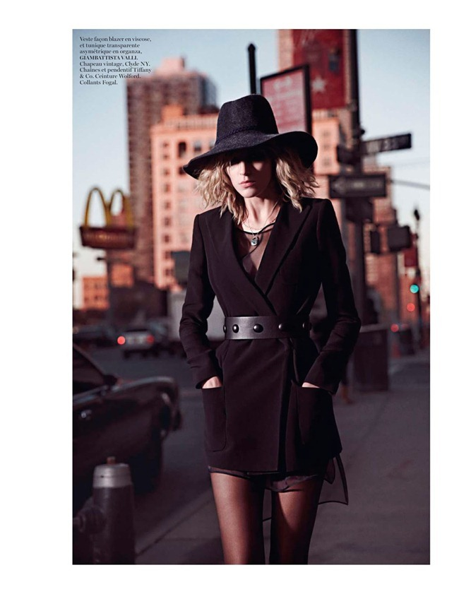 VOGUE PARIS- Anja Rubik in New York Partie 2 by Mario Sorrenti. Melanie Ward, February 2013, www.imageamplified.com, Image Amplified (1)