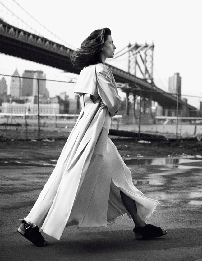 VOGUE PARIS- Andreea Diaconu in New York Partie 3 by David Sims. Emmanuelle Alt, February 2013, www.imageamplified.com, Image Amplified (1)