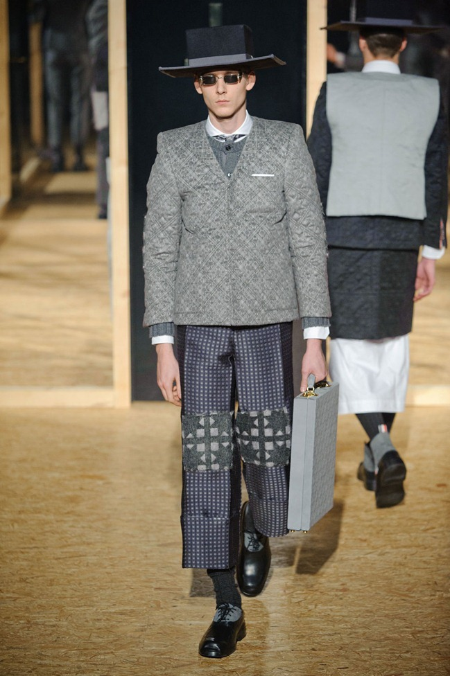 PARIS FASHION WEEK- Thom Browne Fall 2013. www.imageamplified.com, Image Amplified (2)