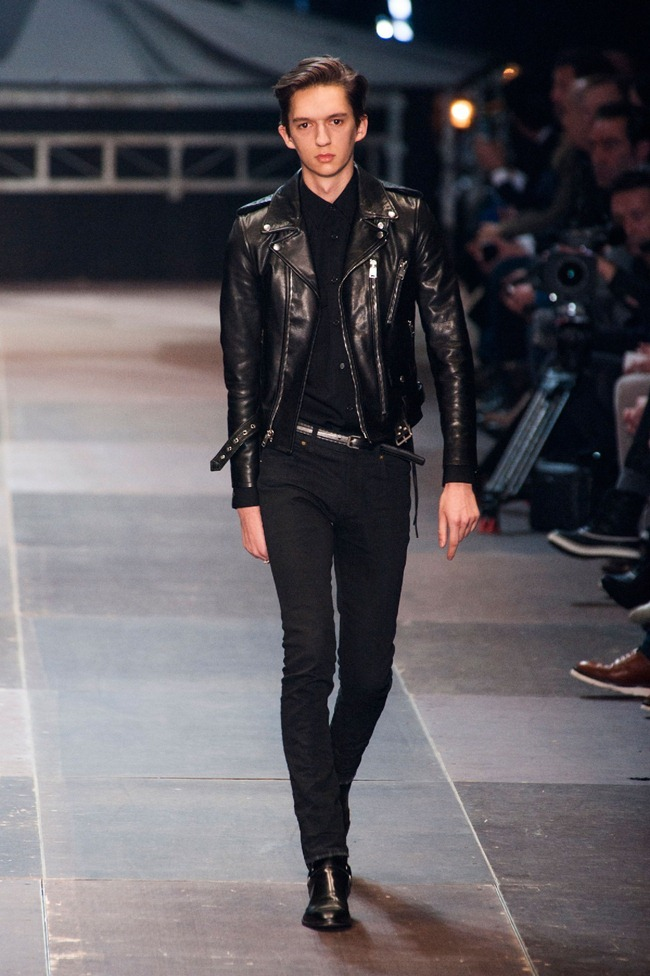 PARIS FASHION WEEK- Saint Laurent Fall 2013. www.imageamplified.com, Image Amplified (23)