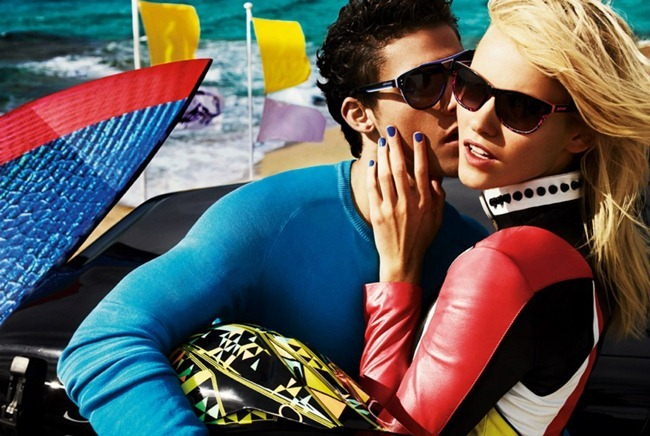 CAMPAIGN- Aline Weber, Emily DiDonato, Ginta Lapina, Chris Bunn, Chris Petersen & Thomas Guarracino for Just Cavalli Spring 2013 by Giampaolo Sgura. www.imageamplified.com, Image Amplified (9)