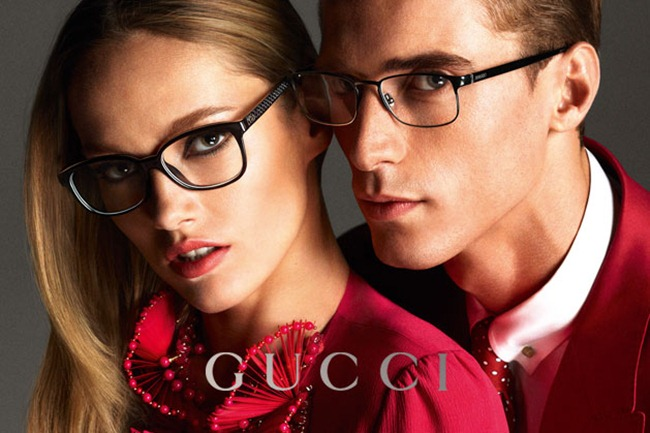 CAMPAIGN- Anja Rubik, Karmen Pedaru & Clement Chabernaud for Gucci Spring 2013 by Mert & Marcus. www.imageamplified.com, Image Amplified (14)