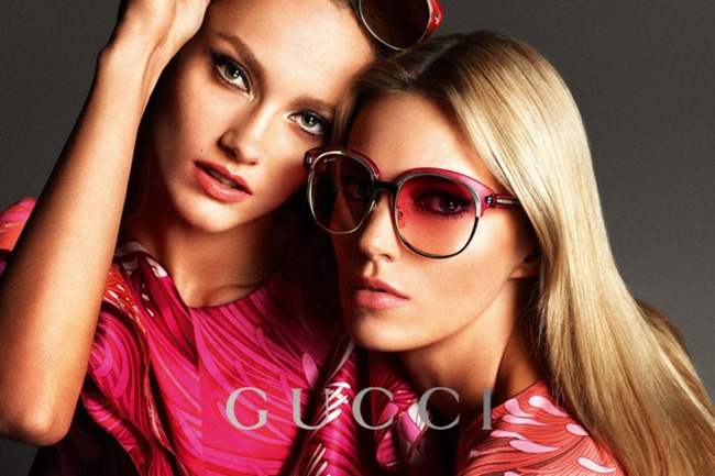 CAMPAIGN- Anja Rubik, Karmen Pedaru & Clement Chabernaud for Gucci Spring 2013 by Mert & Marcus. www.imageamplified.com, Image Amplified (15)