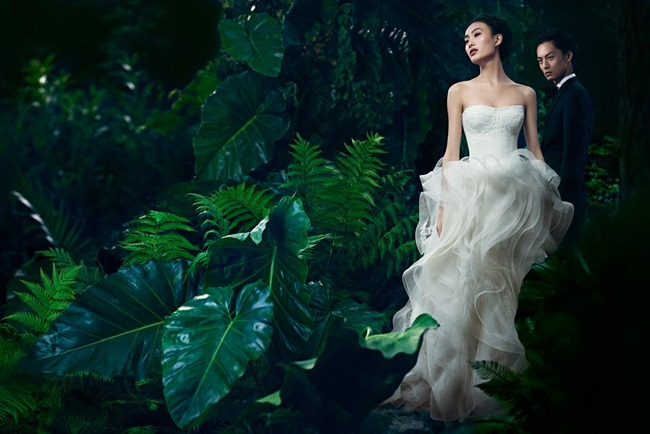 CAMPAIGN- Shu Pei & David Chiang for Vera Wang Spring 2013. www.imageamplified.com, Image Amplified