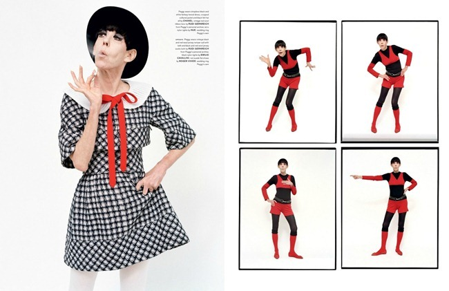 LOVE MAGAZINE- Peggy Moffitt by Tim Walker. Jacob K, Spring 2013, www.imageamplified.com, Image Amplified (2)