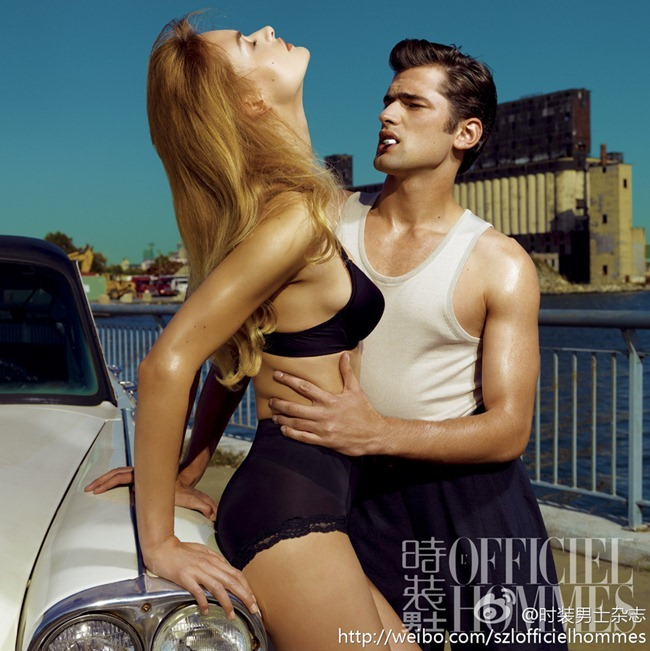 FASHION PHOTOGRAPHY- Sean O'Pry for L'Officiel Hommes China, January 2013, www.imageamplified.com, Image Amplified (5)