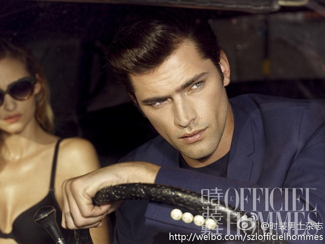 FASHION PHOTOGRAPHY- Sean O'Pry for L'Officiel Hommes China, January 2013, www.imageamplified.com, Image Amplified