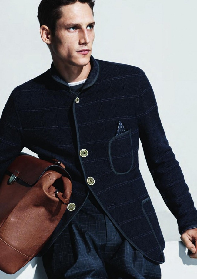 CAMPAIGN- Roch Barbot for Giorgio Armani Menswear Sprign 2013 by Mert & marcus. www.imageamplified.com, Image Amplified (7)