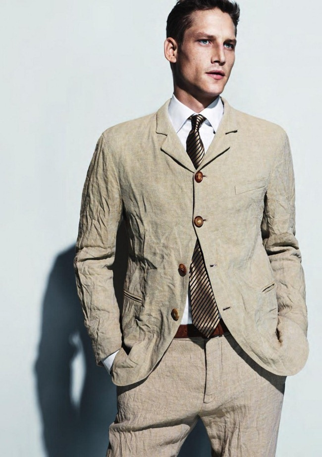 CAMPAIGN- Roch Barbot for Giorgio Armani Menswear Sprign 2013 by Mert & marcus. www.imageamplified.com, Image Amplified (1)