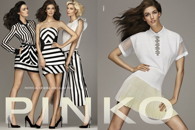 CAMPAIGN- Kendra Spears, Aline Weber & Patrycja Gardygaljlo for Pinko Spring 2013 by Giampaolo Sgura. www.imageamplified.com, Image Amplified (3)