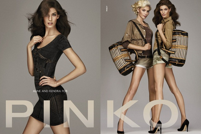 CAMPAIGN- Kendra Spears, Aline Weber & Patrycja Gardygaljlo for Pinko Spring 2013 by Giampaolo Sgura. www.imageamplified.com, Image Amplified (4)