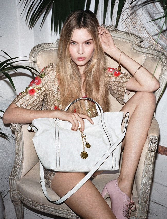 CAMPAIGN- Josephine Skriver for Blugirl Spring 2013 by Angelo Pennetta. www.imageamplified.com, Image Amplified