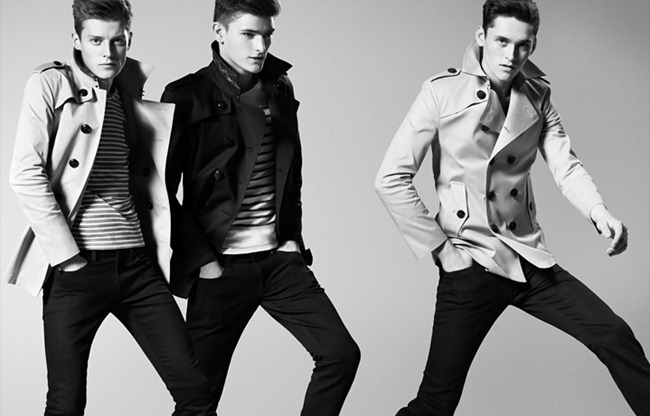 CAMPAIGN- Anders Hayward, Alexander Beck & Janis Ancens for Burberry Black Label Spring 2013. www.imageamplified.com, Image Amplified (3)