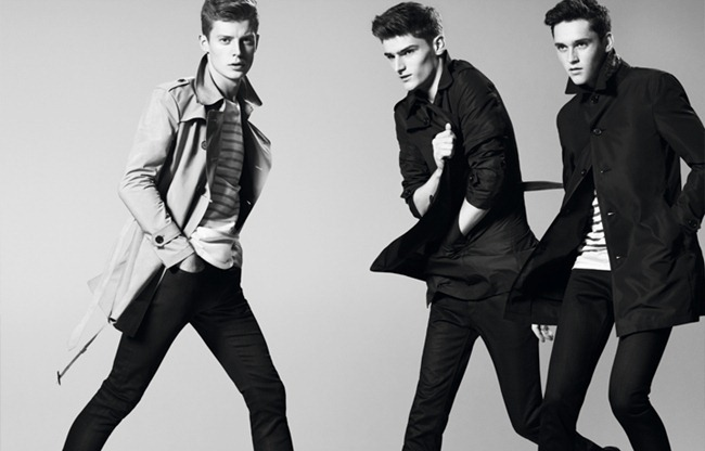 CAMPAIGN- Anders Hayward, Alexander Beck & Janis Ancens for Burberry Black Label Spring 2013. www.imageamplified.com, Image Amplified (4)