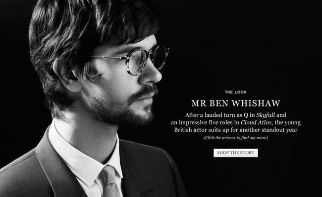 CAMPAIGN- Ben Whishaw for Mr Porter. www.imageamplified.com, Image Amplified
