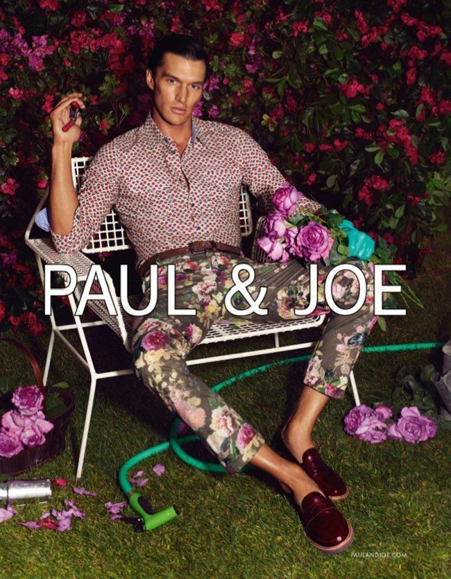 CAMPAIGN- Carolyn Murphy & Shaun DeWet for Paul & Joe Spring 2013 by Mikael Jansson. Karl Templer, www.imageamplified.com, Image Amplified (6)