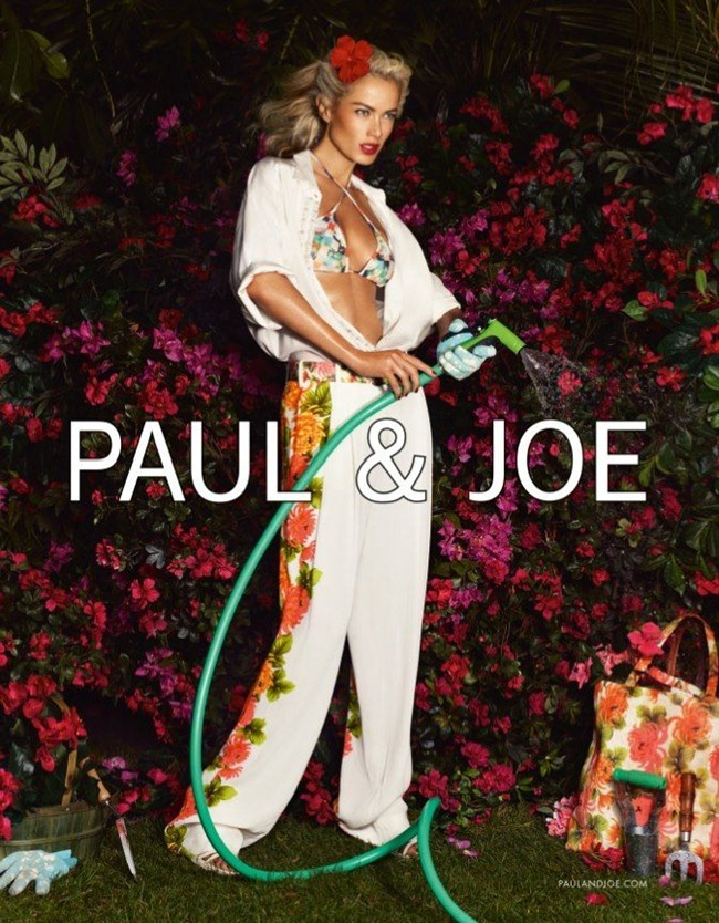 CAMPAIGN- Carolyn Murphy & Shaun DeWet for Paul & Joe Spring 2013 by Mikael Jansson. Karl Templer, www.imageamplified.com, Image Amplified