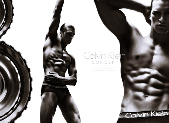 CAMPAIGN- Edita Vilkeviciute & Matthew Terry for Calvin Klein Concept Spring 2013 by Stevne Klein. Fabien Baron, www.imageamplified.com, Image Amplified (3)