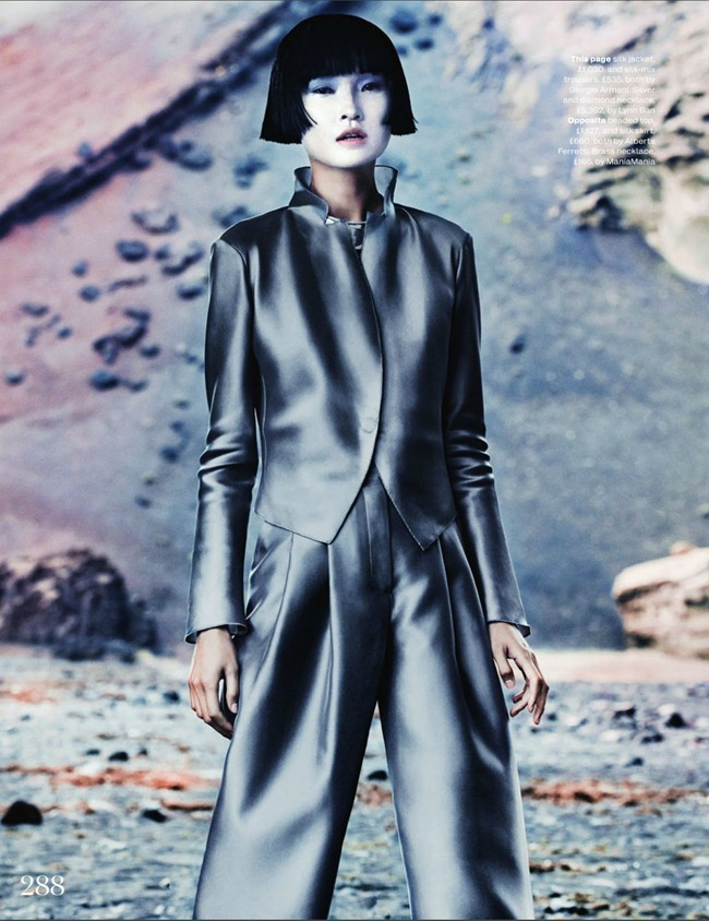 ELLE UK- Wang Xiao in New Frontiers by Marcus Ohlsson. Anne-Marie Curtis, March 2013, www.imageamplified.com, Image Amplified (3)