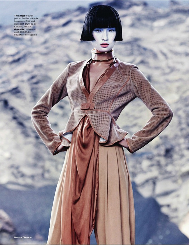 ELLE UK- Wang Xiao in New Frontiers by Marcus Ohlsson. Anne-Marie Curtis, March 2013, www.imageamplified.com, Image Amplified (4)