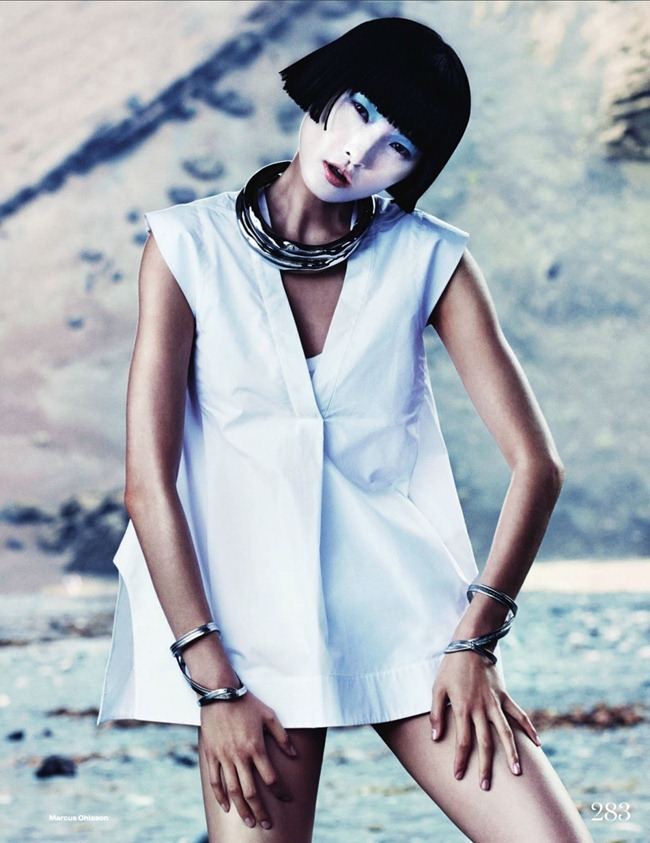 ELLE UK- Wang Xiao in New Frontiers by Marcus Ohlsson. Anne-Marie Curtis, March 2013, www.imageamplified.com, Image Amplified (8)