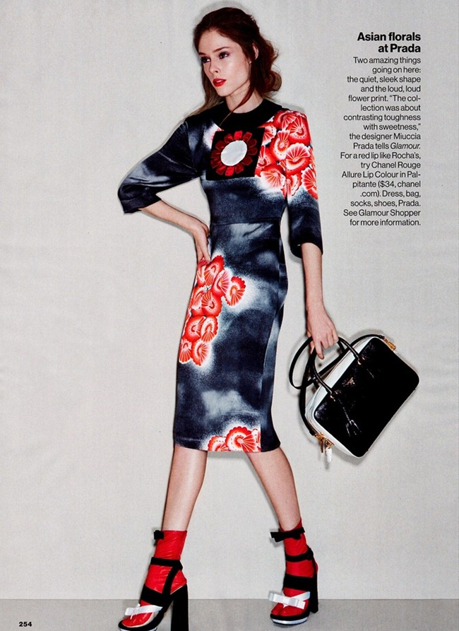 GLAMOUR MAGAZINE- Coco Rocha in Trends With Benefits by Patrick Demarchelier. Anne Christensen, March 2013, www.imageamplified.com, Image Amplified (2)