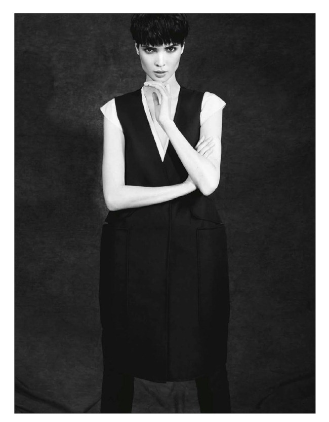 BE MAGAZINE- Hanaa Ben Abdesslem in Minimale Androgyne by Nelson Simoneau. Isabelle Peyrut, March 2013, www.imageamplified.com, Image Amplified (6)