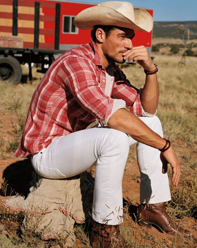 CAMPAIGN- David Gandy & Isabeli Fontana for Lucky Brand Spring 2013. www.imageamplified.com, Image Amplified (4)