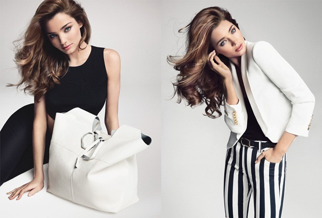 CAMPAIGN- Miranda Kerr for Mango Spring 2013 by Inez & Vinoodh. www.imageamplified.com, Image Amplified
