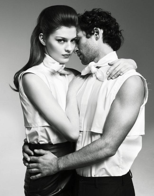COLLEZIONI UOMO- Amber Anderson & Nicolas Cazale by Nikolay Biryukov. Natalia Yakovleva, www.imageamplified.com, Image Amplified