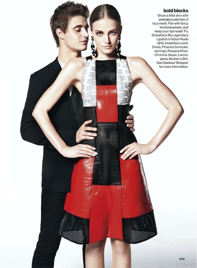 GLAMOUR MAGAZINE- Zuzana Kopuncova & Myf Shepherd in Mod Squad by Nicolas Moore. Melissa Ventosa Martin, March 2013, www.imageamplified.com, Image Amplified (3)