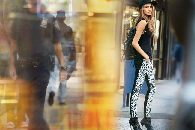 CAMPAIGN- Cara Delevigne & Baptiste Mayeux for DKNY Jeans Spring 2013 by Patrick Demarchelier. www.imageamplified.com, Image Amplified (4)