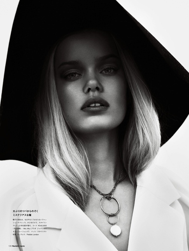 NUMER TOKYO- Frida Aasen in In The Modd by Jonas Bresnan. Zoe James, March 2013, www.imageamplified.com, Image Amplified