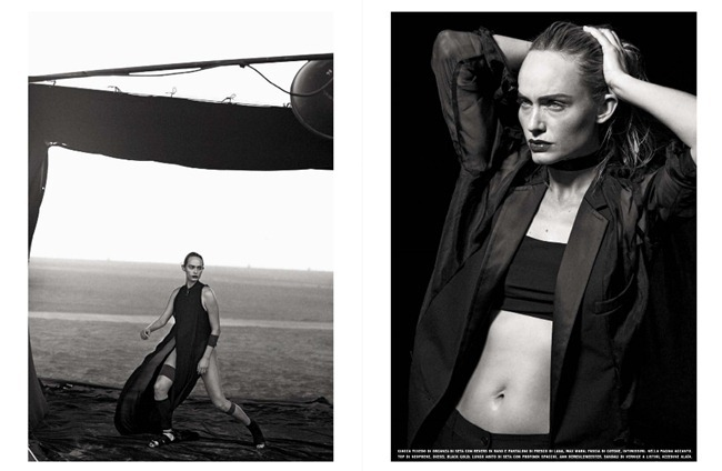 VOGUE ITALIA- Amber Valletta by Peter Lindbergh, February 2013, www.imageamplified.com, Image Amplified (6)