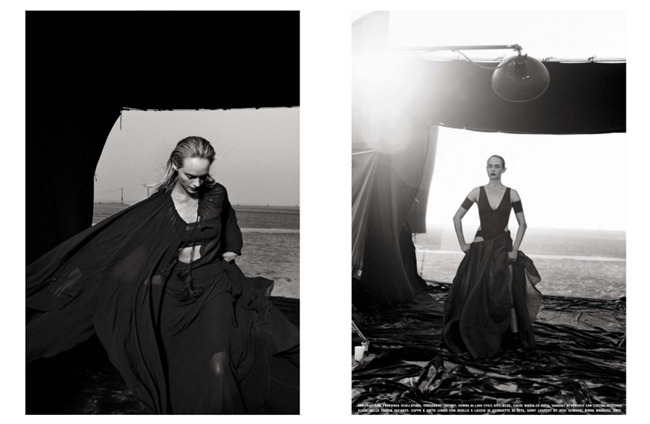 VOGUE ITALIA- Amber Valletta by Peter Lindbergh, February 2013, www.imageamplified.com, Image Amplified (9)
