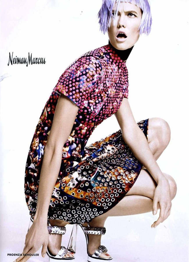 CAMPAIGN- Karlie Kloss for Neiman Marcus Spring 2013, www.imageamplified.com, Image Amplified