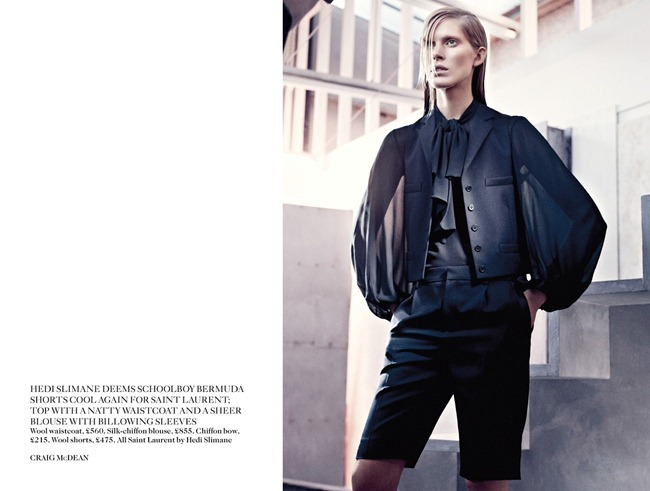 VOGUE UK- Iselin Steiro in Cut to the Chase by Craig McDean. Jane How, March 2013, www.imageamplified.com, Image Amplified (3)