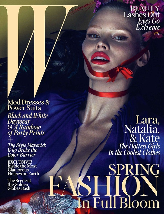 W MAGAZINE- Kate Moss, Lara Stone & Natalia Vodianova by Mert & Marcus. Edward Enninful, March 2013, www.imageamplified.com, Image Amplified (2)