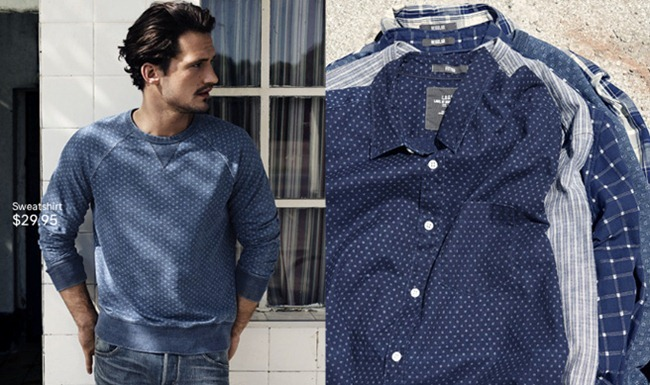 CAMPAIGN- Sam Webb in A Touch of Blue for H&M Spring 2013. www.imageamplified.com, Image Amplified (8)