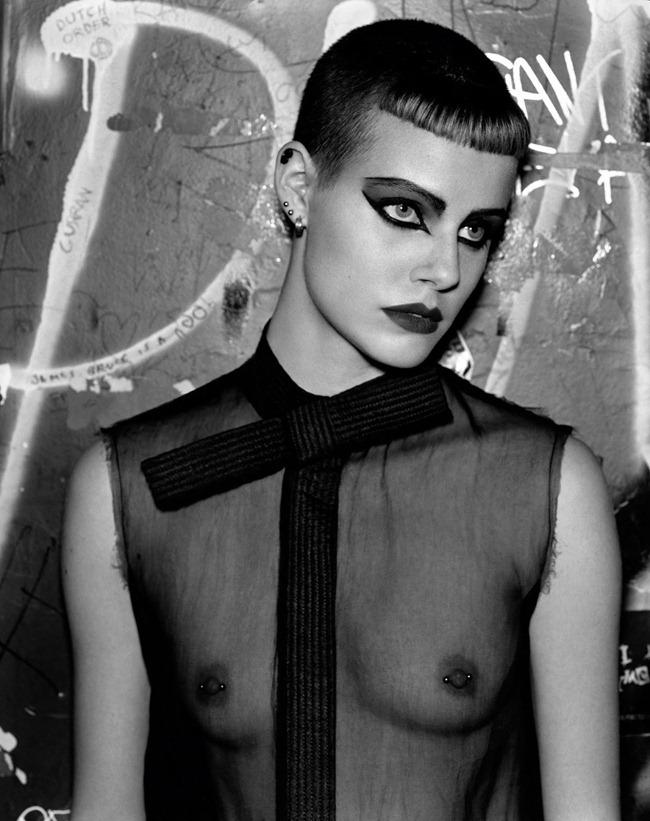 PURPLE MAGAZINE- Ehren Dorsey in Re-Fashion Punk by Alasdair McLellan. Jane How, Spring 2013, www.imageamplified.com, Image Amplified (2)