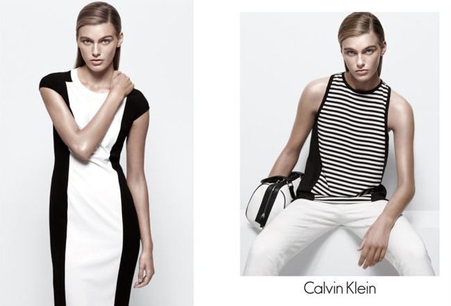 CAMPAIGN- Madison Headrick & Shaun DeWet for Calvin Klein White Label Spring 2013 by Daniel Jackson. www.imageamplified.com, Image Amplified (1)