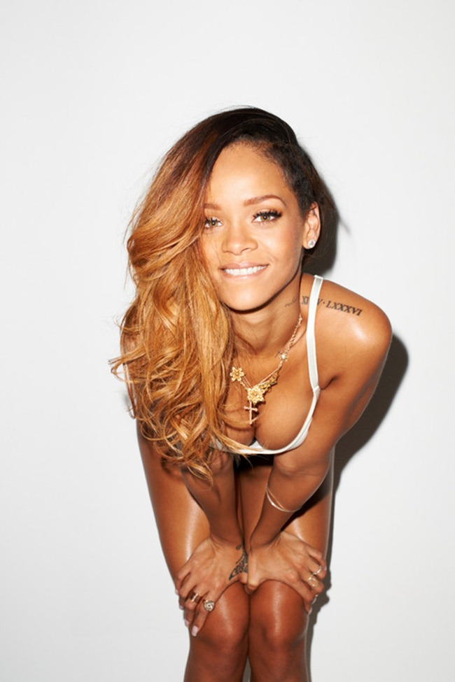 ROLLINGSTONE MAGAZINE- Rihanna by Terry Richardson. February 2013, www.imageamplified.com, Image Amplified