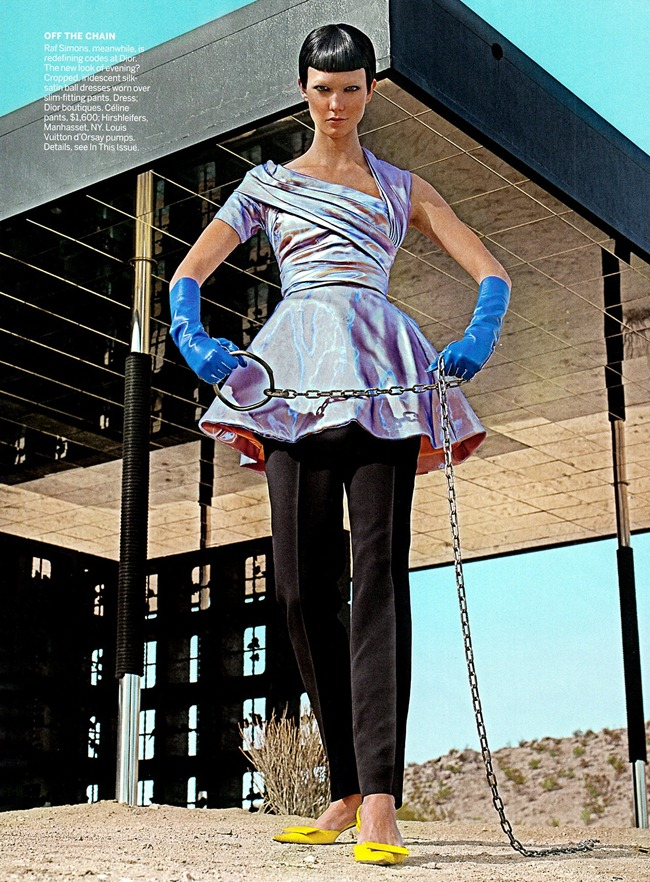 VOGUE MAGAZINE- Karlie Kloss in On The Prowl by Steven Klein. Camilla Nickerson, March 2013, www.imageamplified.com, IMage Amplified (2)