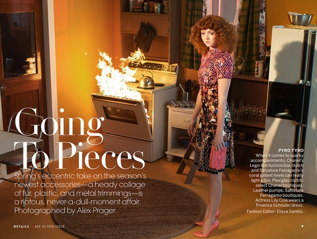 VOGUE MAGAZINE- Lily Cole in Going To Pieces by Alex Prager. Elissa Santisi, March 2013, www.imageamplified.com, Image Amplified (1)