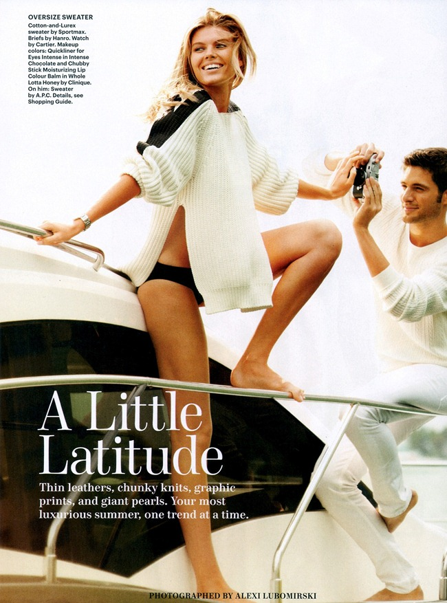 ALLURE MAGAZINE- Maryna Linchuk & Sean Altemose in A Little Latitude by Alexi Lubomirski. Jarrod Lacks, March 2013, www.imageamplified.com, Image Amplified (3)
