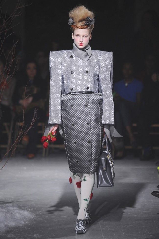 NEW YORK FASHION WEEK- Thom Browne Beckham Fall 2013. www.imageamplified.com, Image Amplified (1)