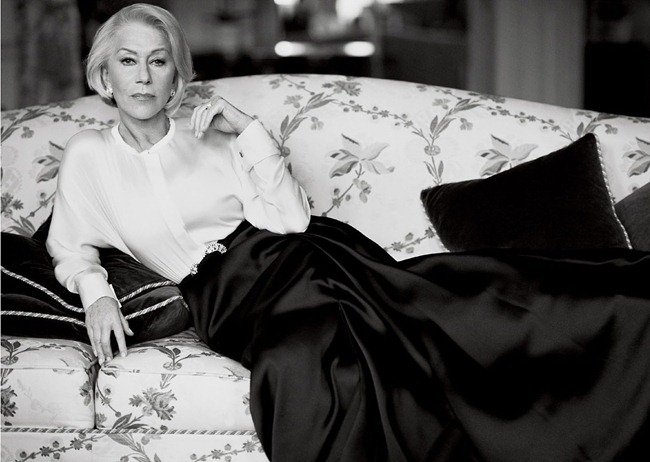 VOGUE MAGAZINE- Helen Mirren in Great Dame by Mikael Jansson. Sara Moonves, March 2013, www.imageamplified.com, Image Amplified (2)