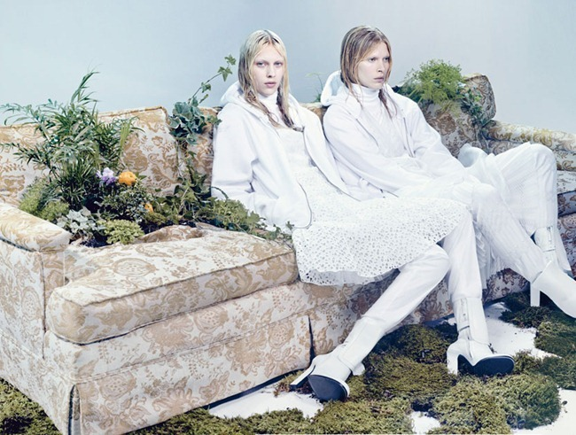 W MAGAZINE- Kati Nescher, Iselin Steiro & Juliana Schurig in The Whites of Spring by Craig McDean. Edward Enninful, March 2013, www.imageamplified.com, Image Amplified (4)